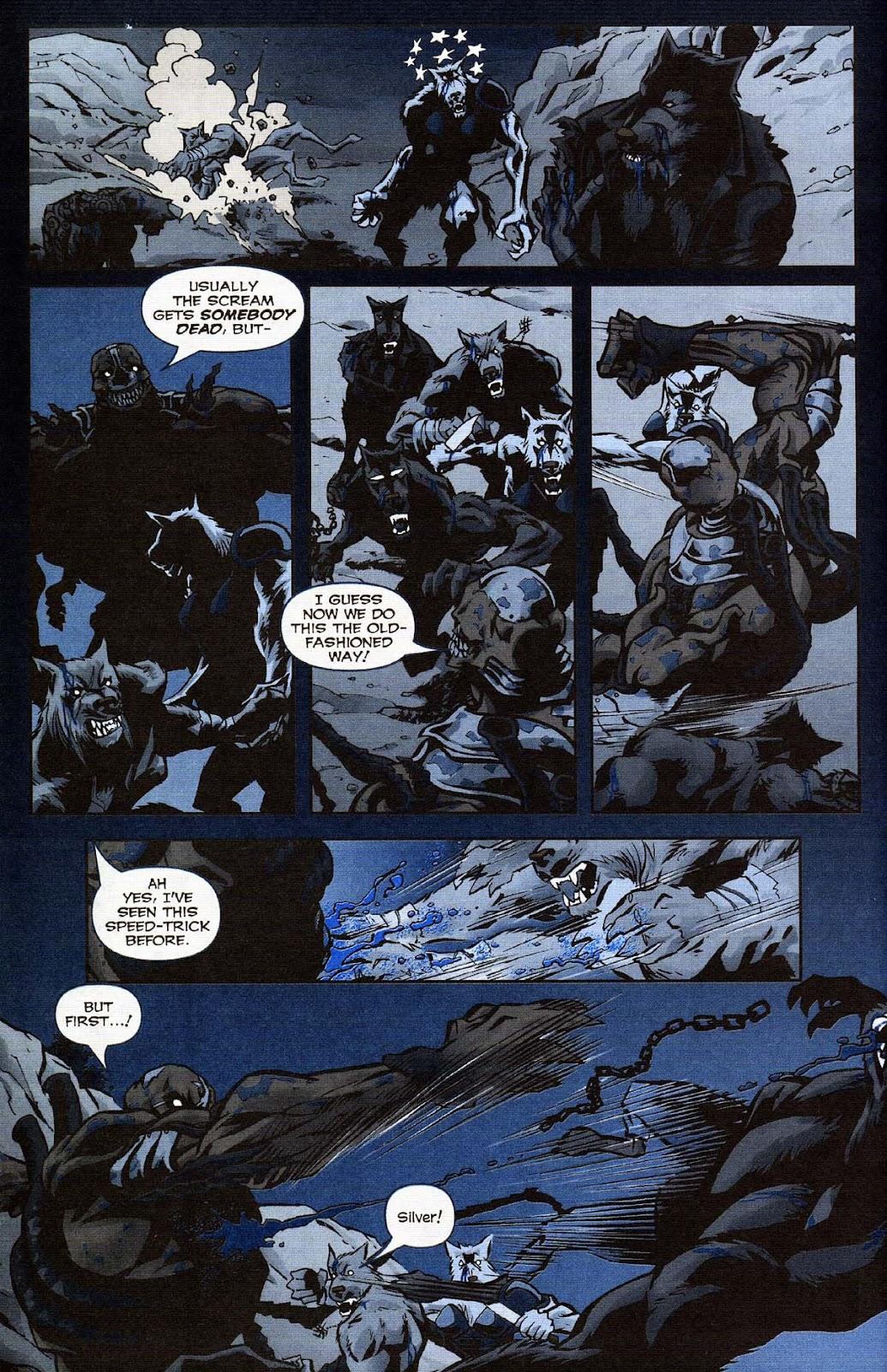 Read online Werewolf the Apocalypse comic -  Issue # Get of Fenris - 32