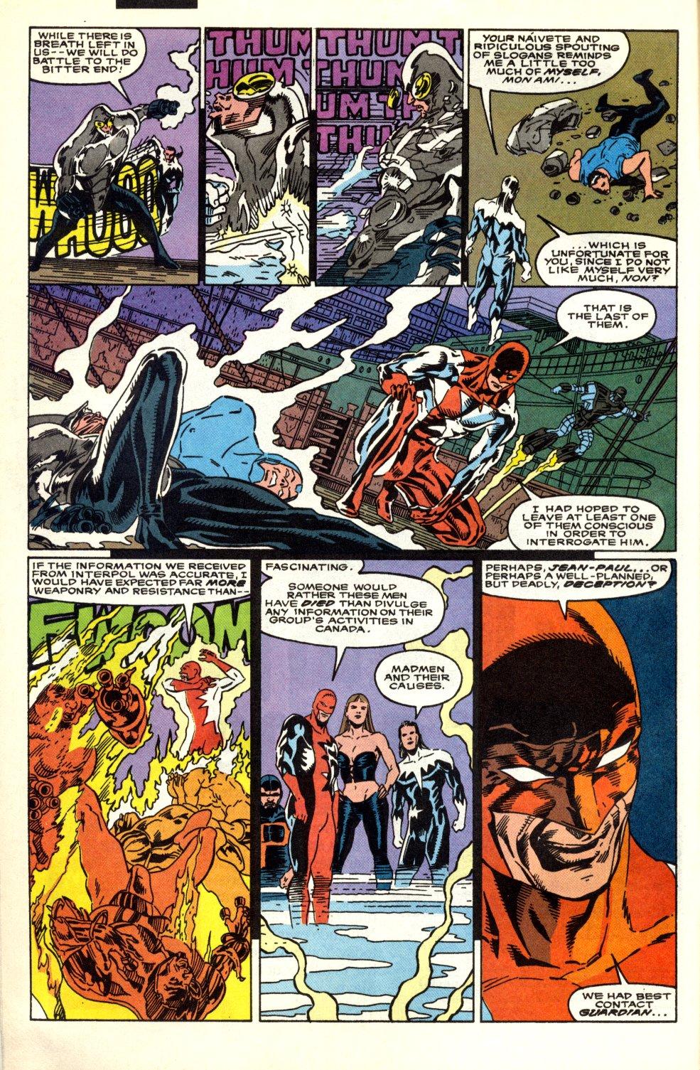 Read online Alpha Flight (1983) comic -  Issue #91 - 6