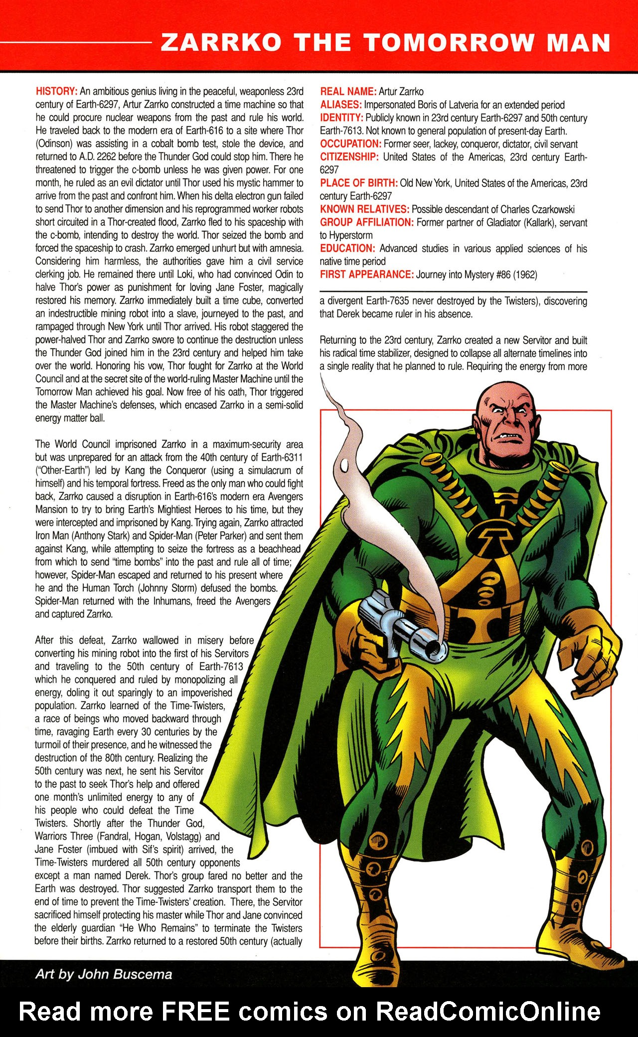Read online All-New Official Handbook of the Marvel Universe A to Z comic -  Issue #12 - 55