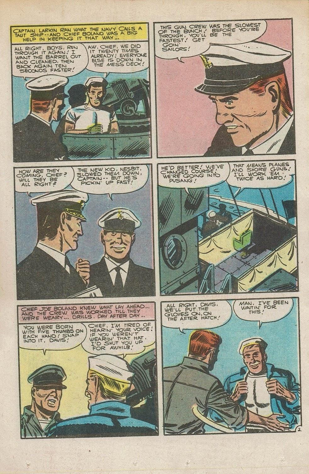 Read online Fightin' Navy comic -  Issue #126 - 19