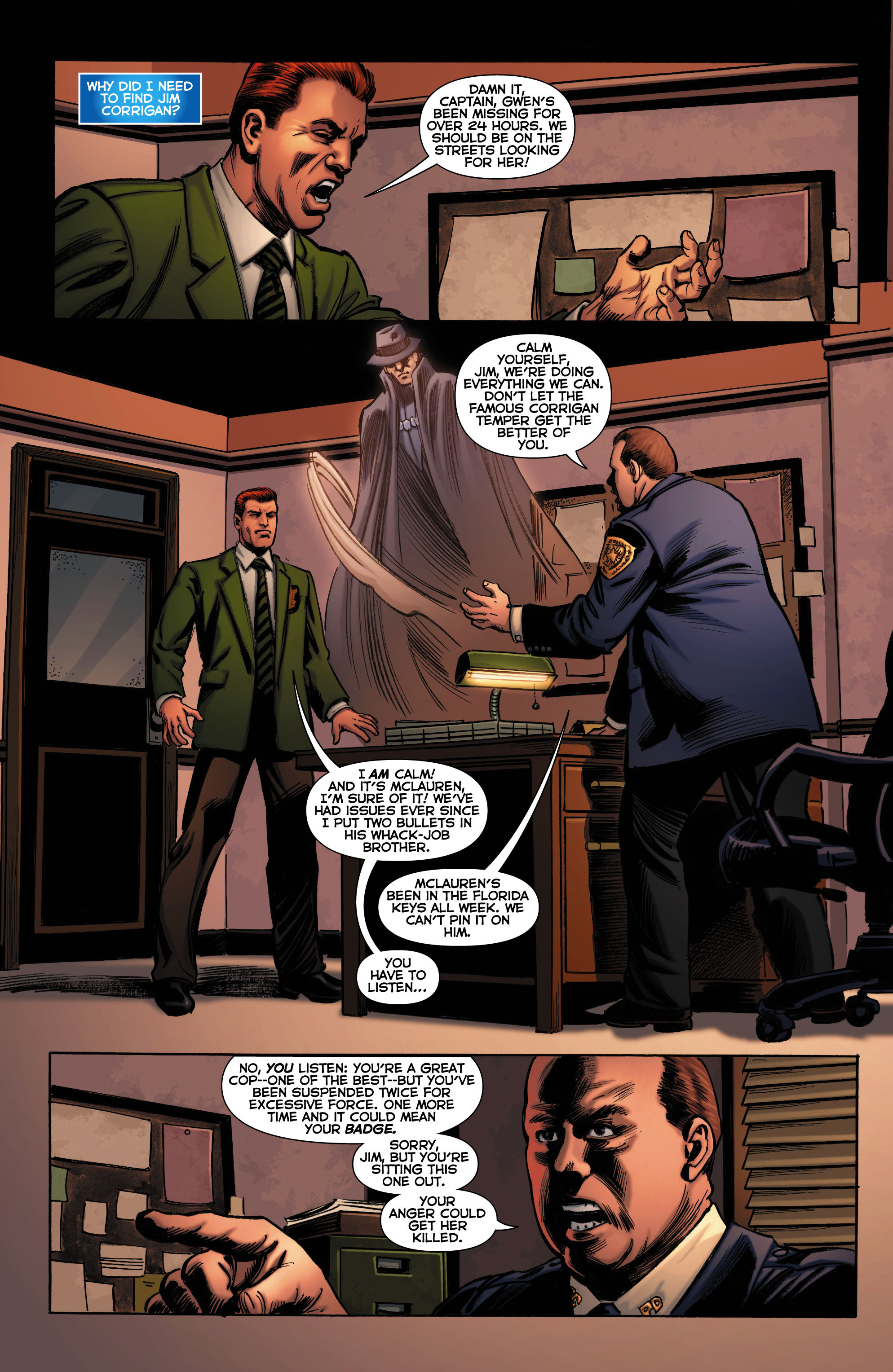 Read online Trinity of Sin: The Phantom Stranger comic -  Issue #0 - 11