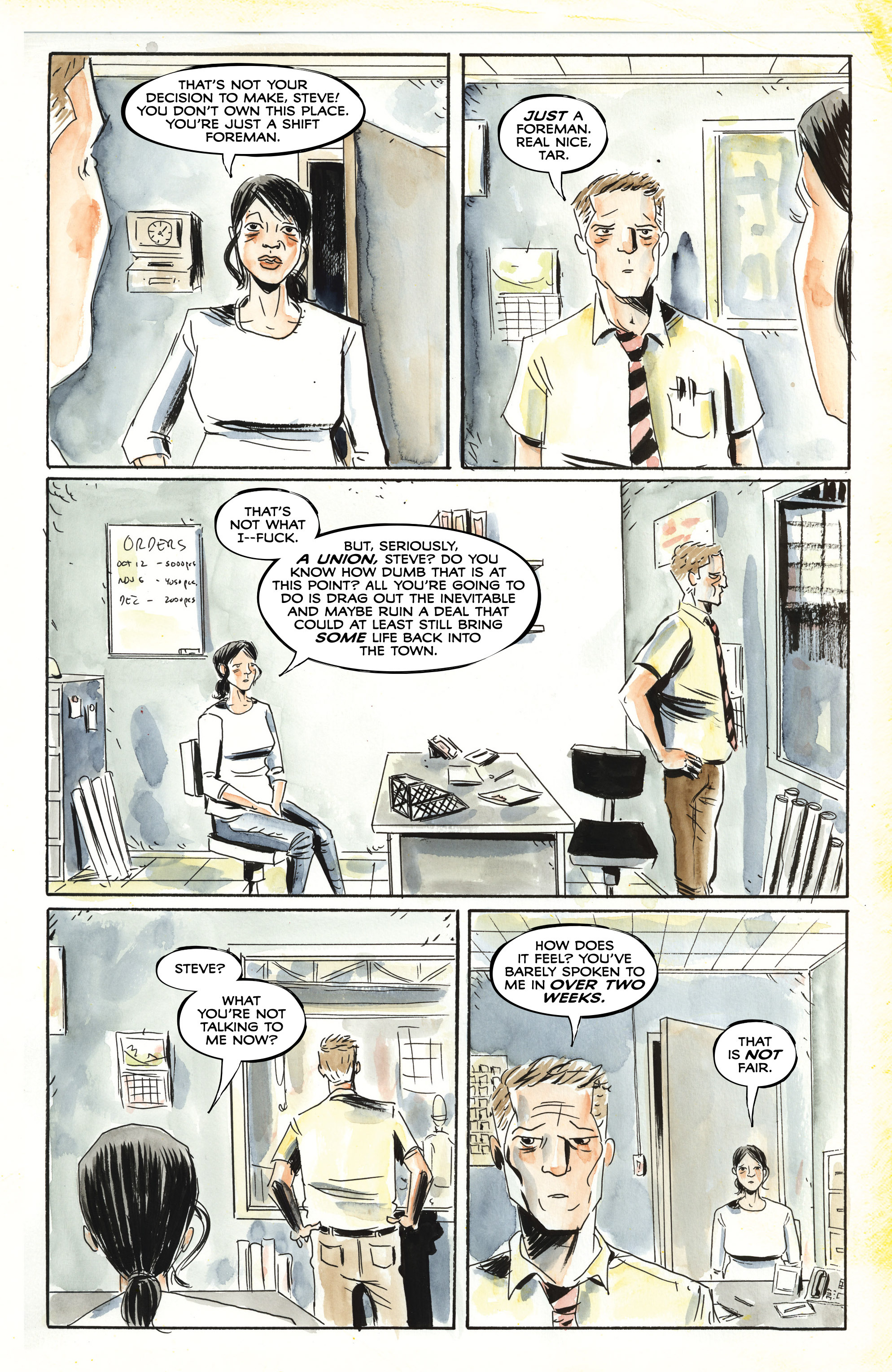 Read online Royal City comic -  Issue #3 - 19