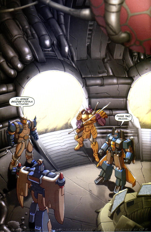 Read online Transformers Armada comic -  Issue #15 - 4