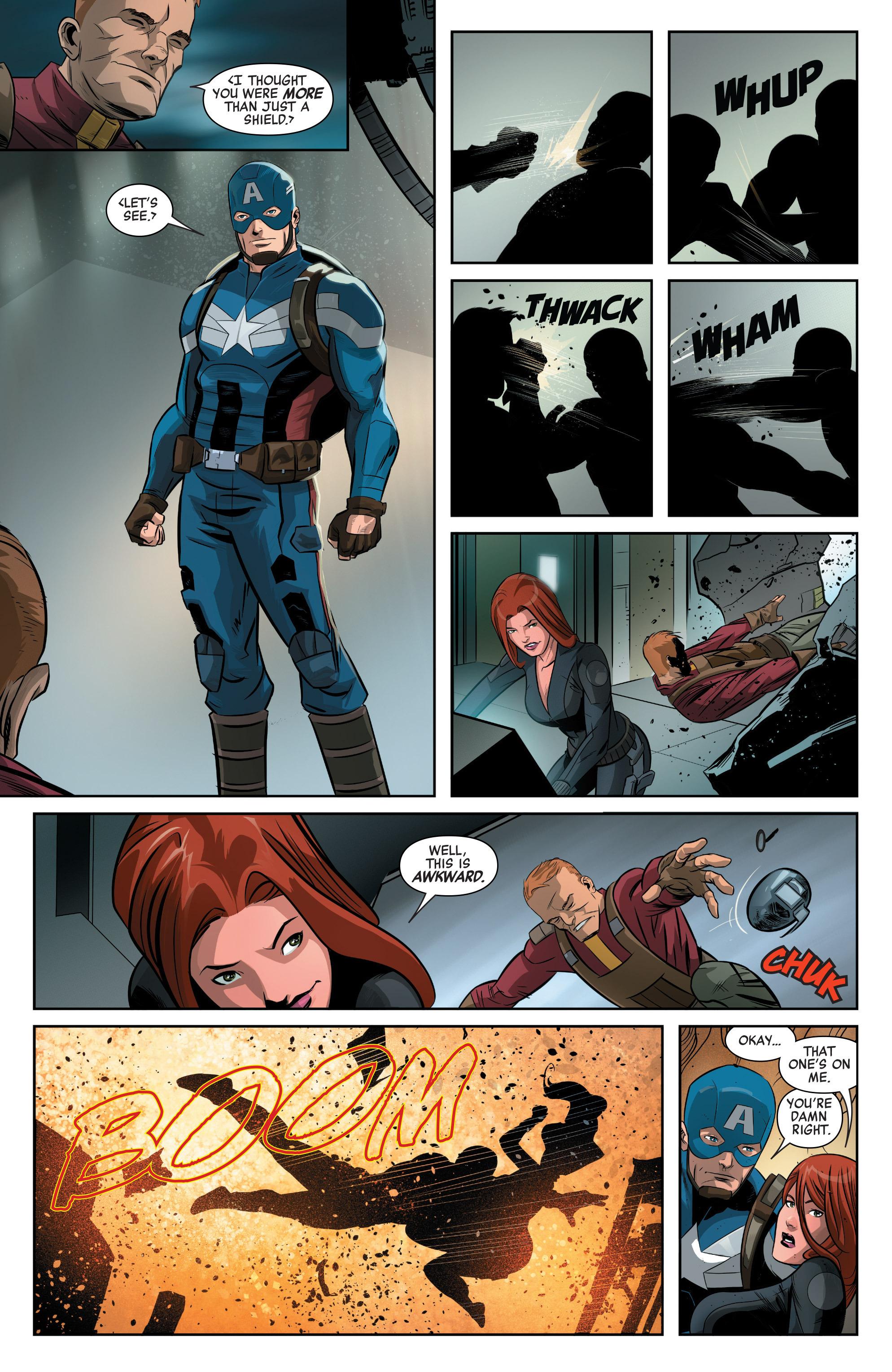 Read online Captain America: Civil War Prelude comic -  Issue #3 - 5