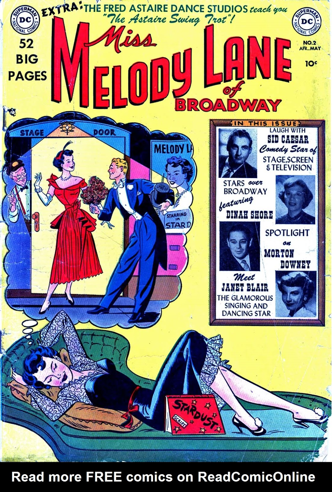 Miss Melody Lane of Broadway issue 2 - Page 1