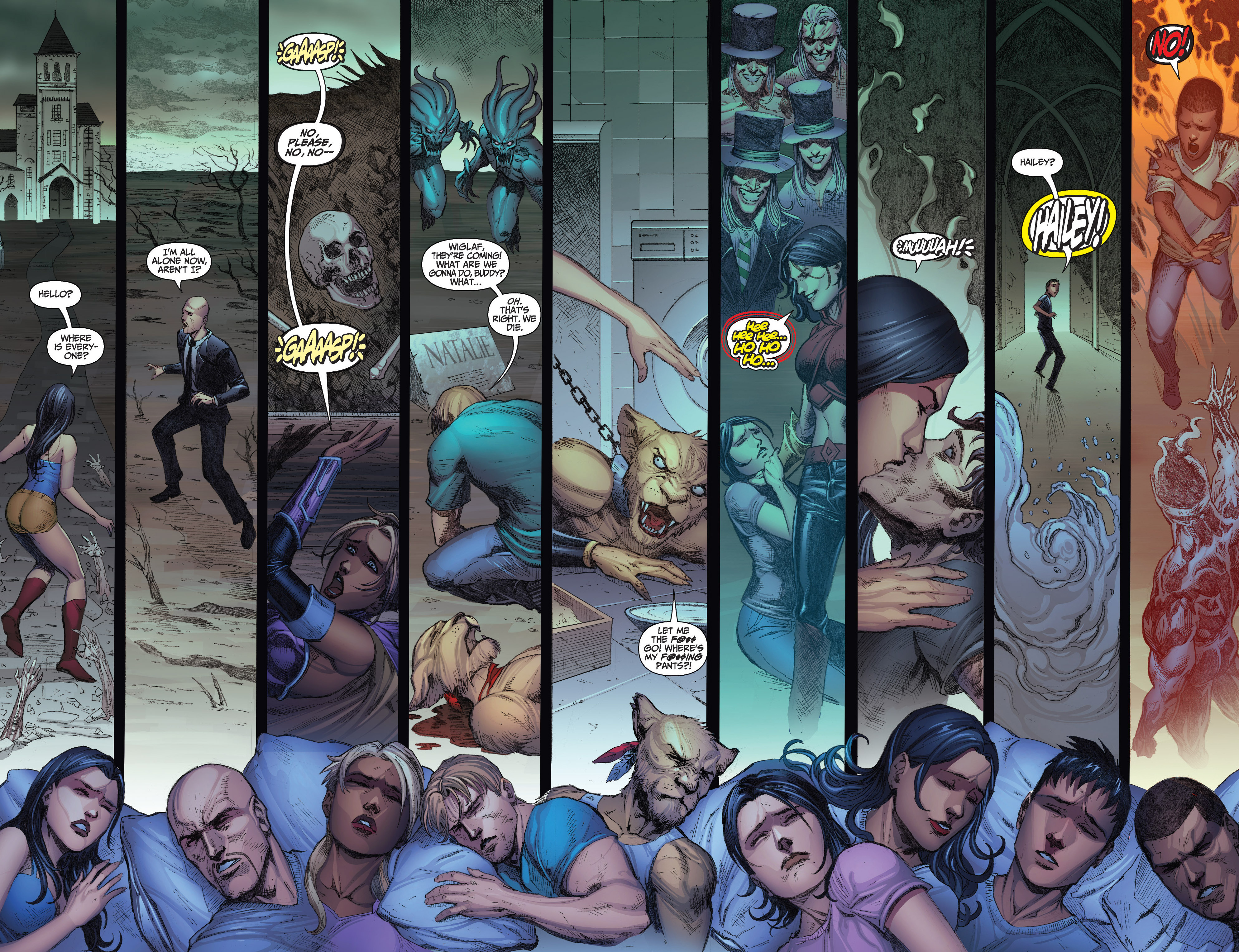 Read online Grimm Fairy Tales: Arcane Acre comic -  Issue # TPB 3 - 88