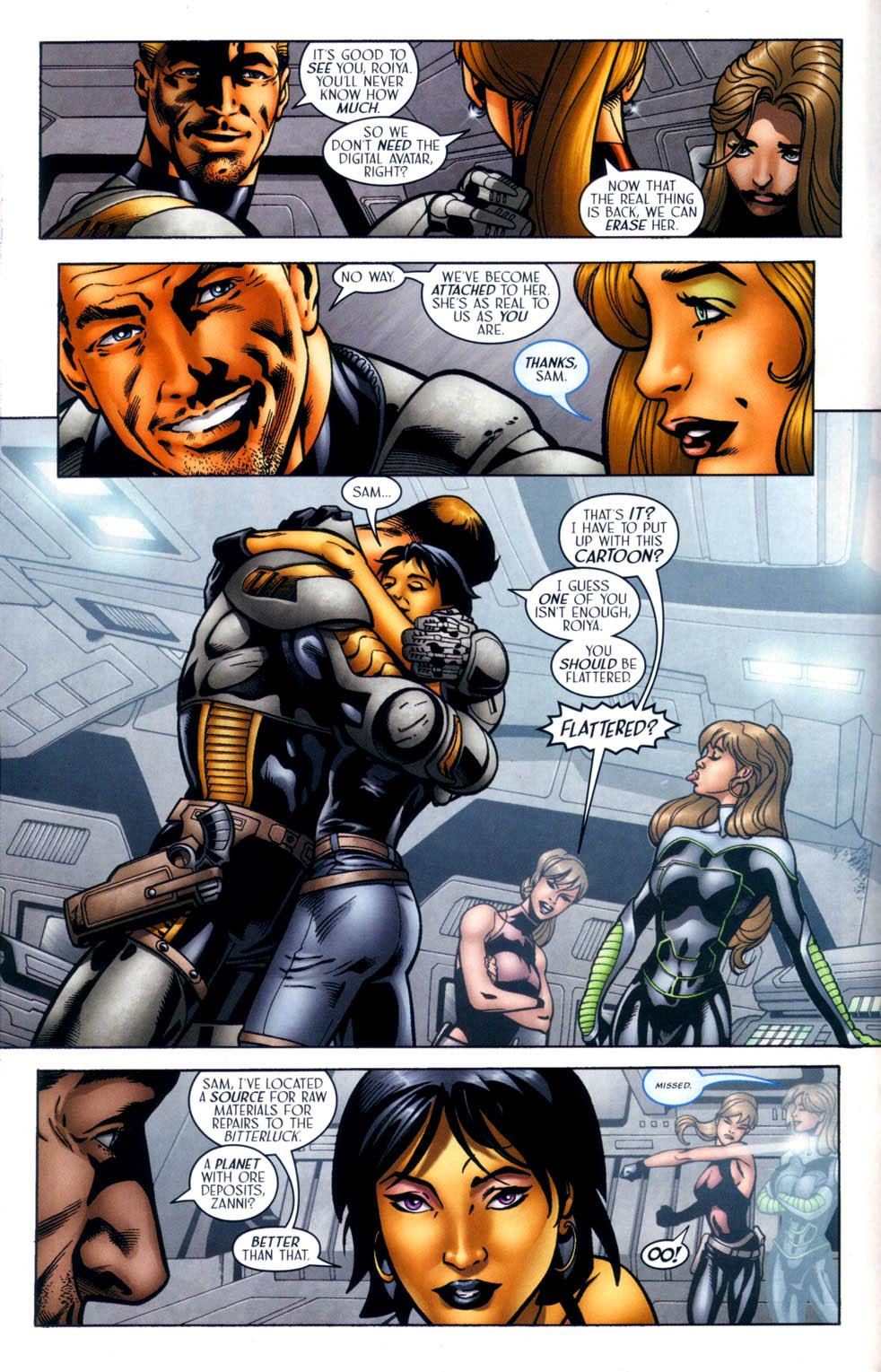 Read online Sigil (2000) comic -  Issue #33 - 9