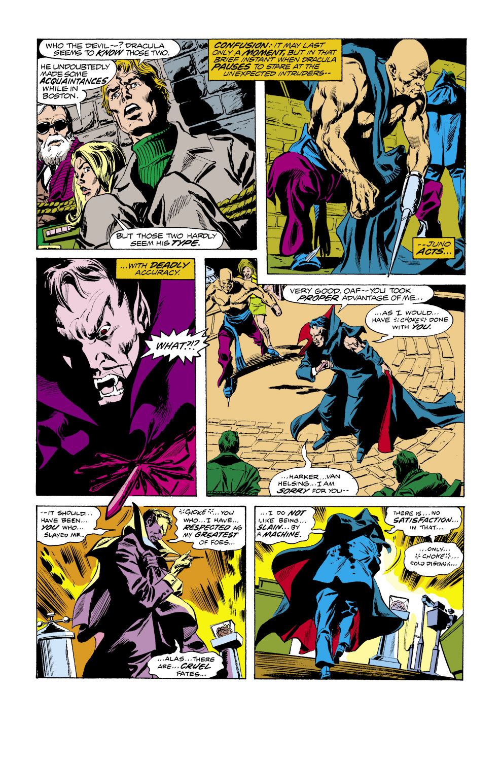 Tomb of Dracula (1972) issue 39 - Page 11