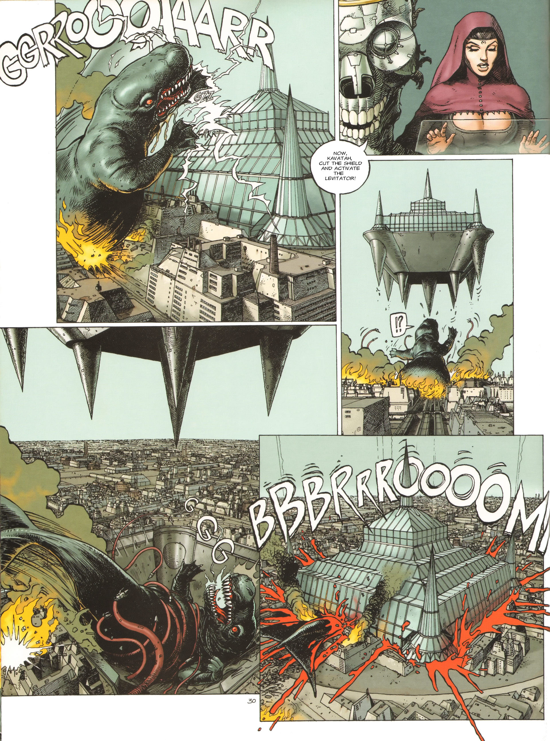 Read online Megalex (2014) comic -  Issue #3 - 33