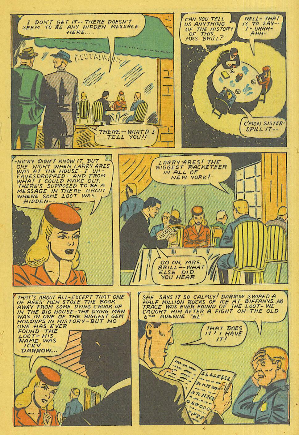 Read online Shadow Comics comic -  Issue #71 - 18
