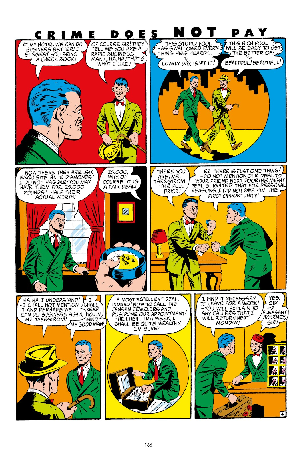 Read online Crime Does Not Pay Archives comic -  Issue # TPB 4 (Part 2) - 86