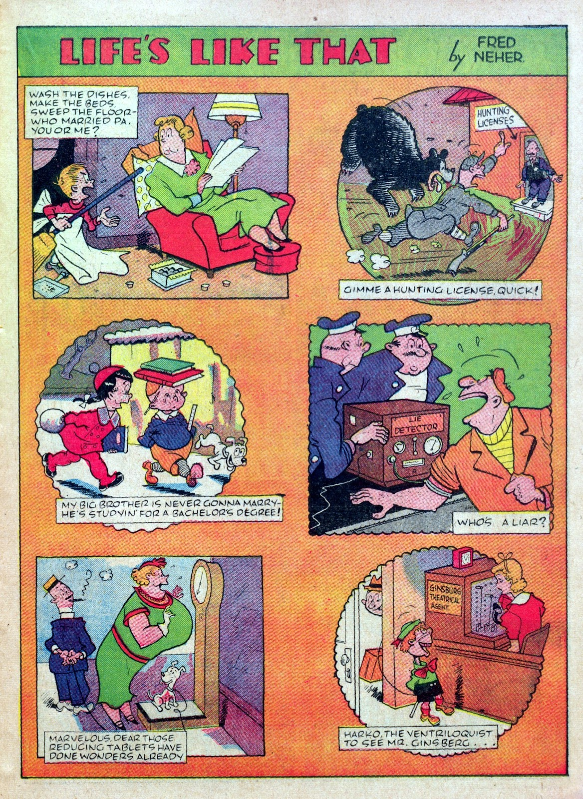 Read online Famous Funnies comic -  Issue #45 - 21