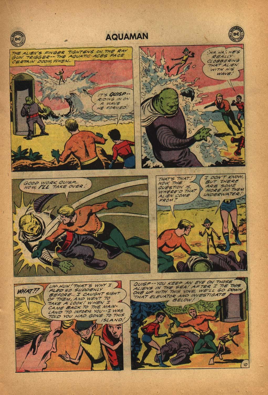 Read online Aquaman (1962) comic -  Issue #4 - 15