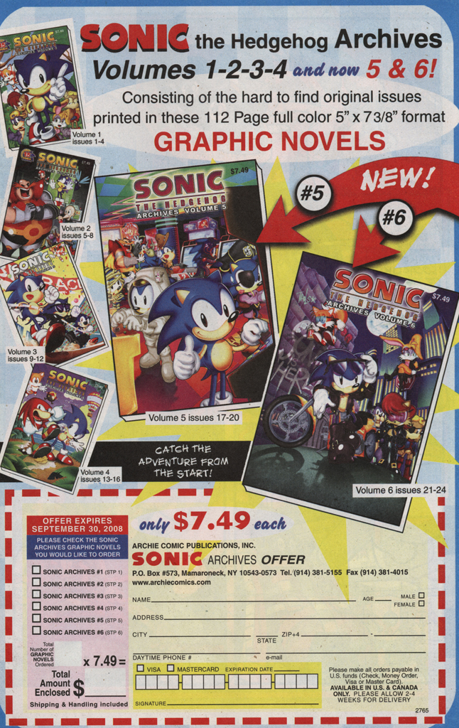 Read online Sonic X comic -  Issue #31 - 21