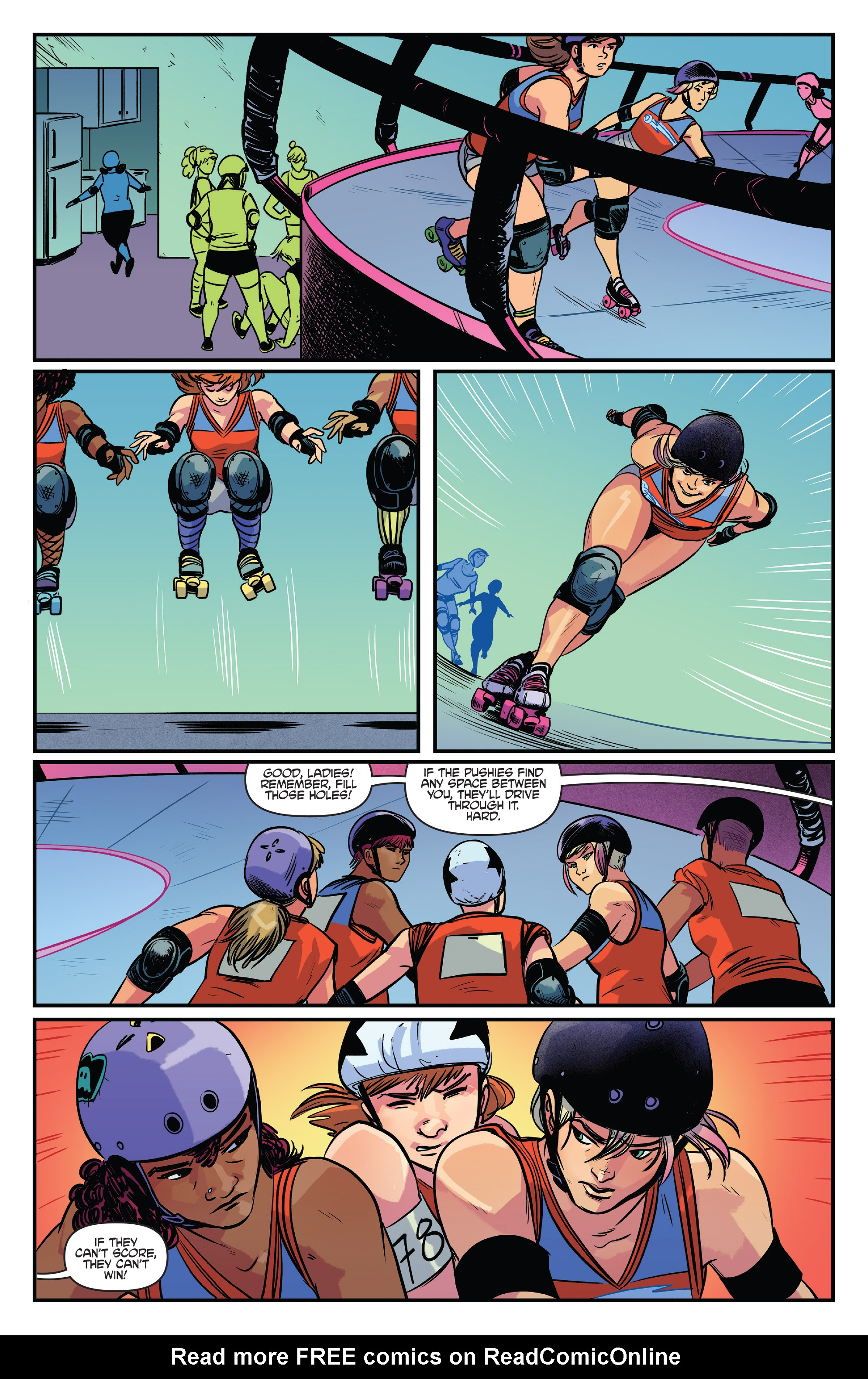 Read online Slam! comic -  Issue #4 - 10