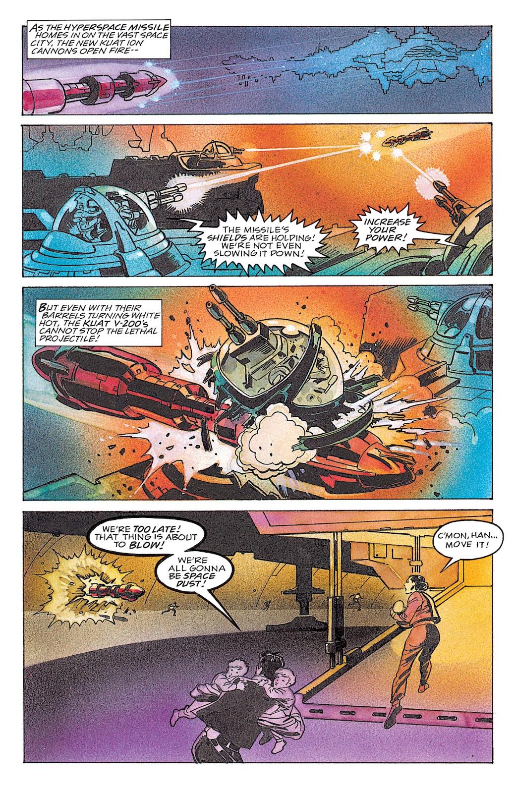 Read online Star Wars: Dark Empire Trilogy comic -  Issue # TPB (Part 4) - 19