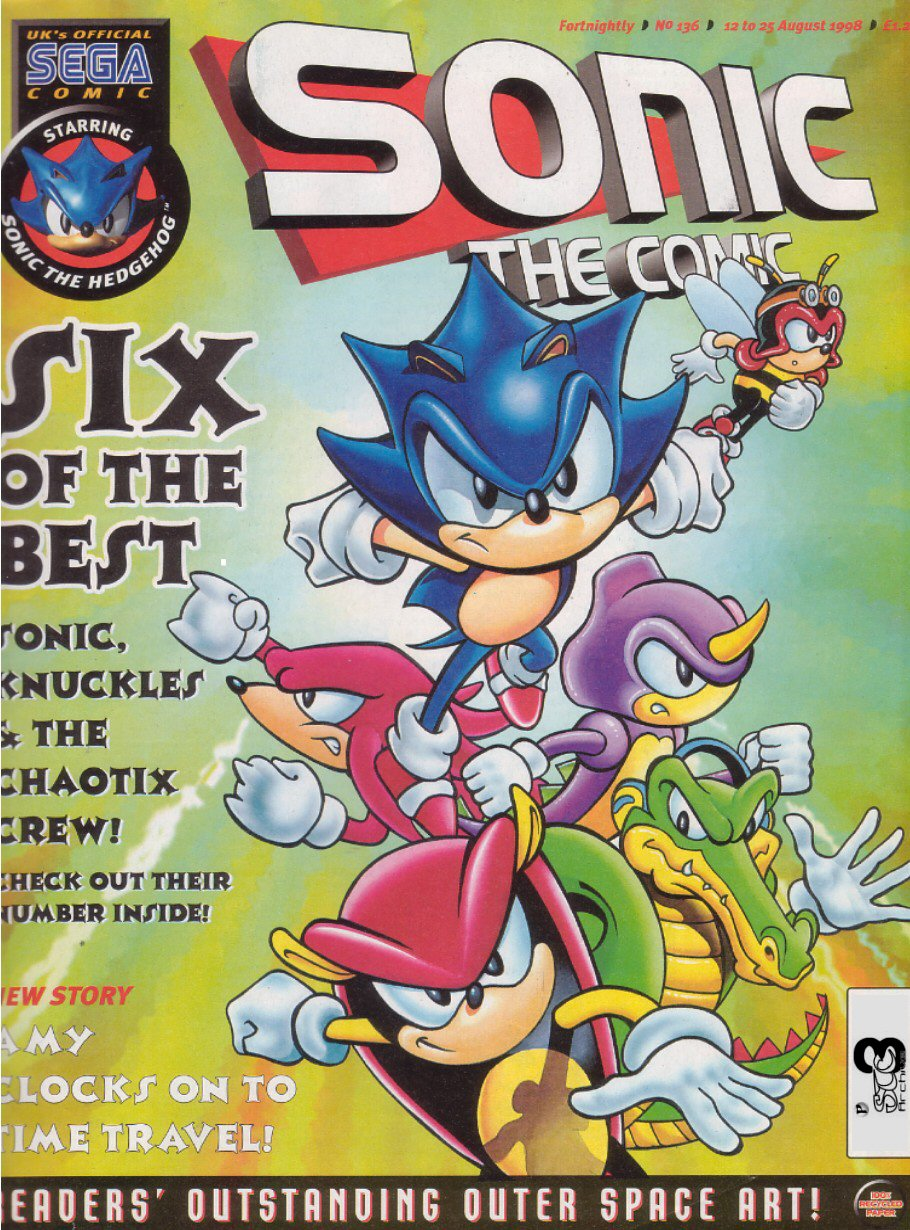 Read online Sonic the Comic comic -  Issue #136 - 1