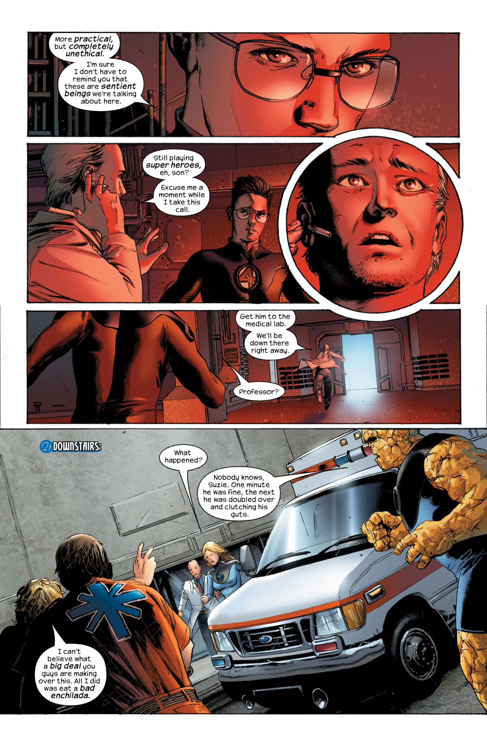 Read online Ultimate Fantastic Four (2004) comic -  Issue #30 - 11