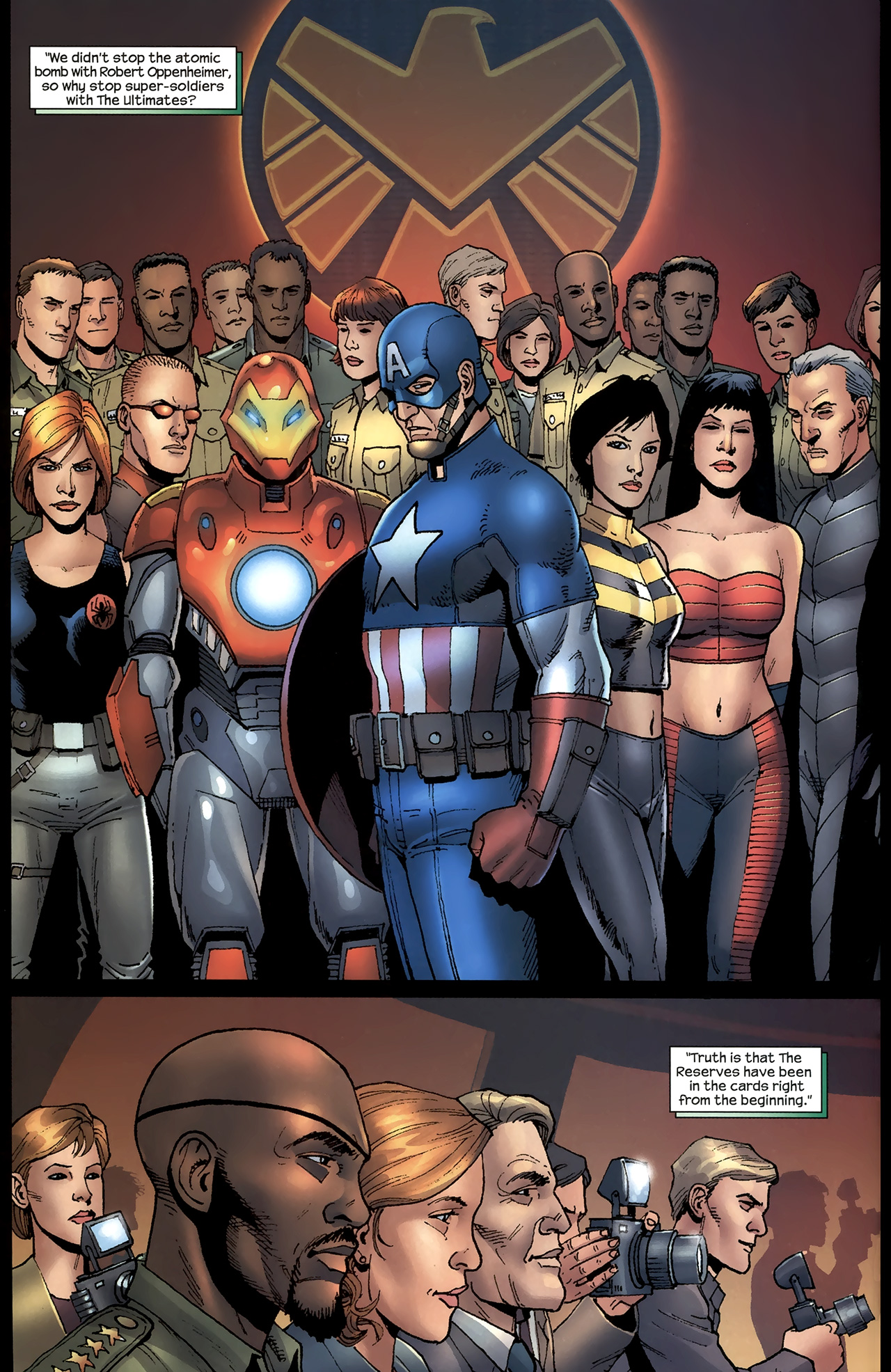 Read online Ultimates 2 comic -  Issue # _Annual 1 - 3