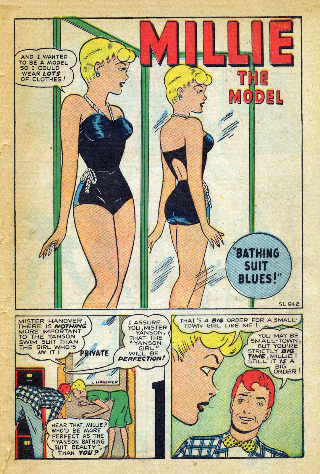 Read online Millie the Model comic -  Issue #8 - 39