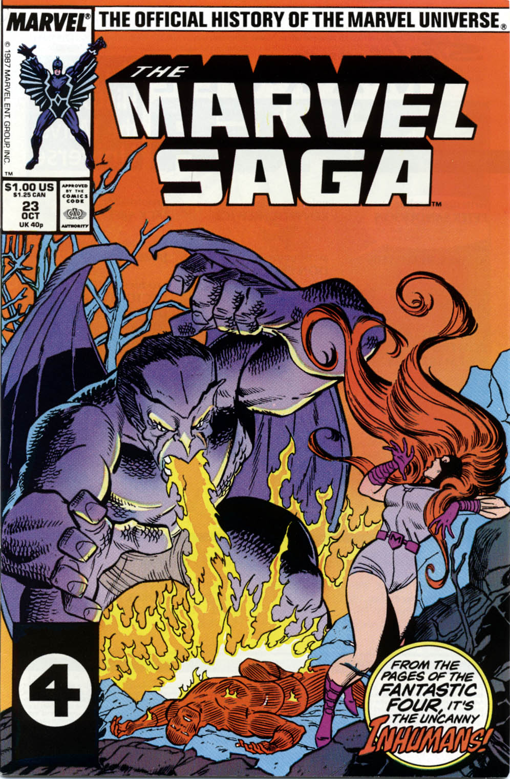Marvel Saga: The Official History of the Marvel Universe 23 Page 1