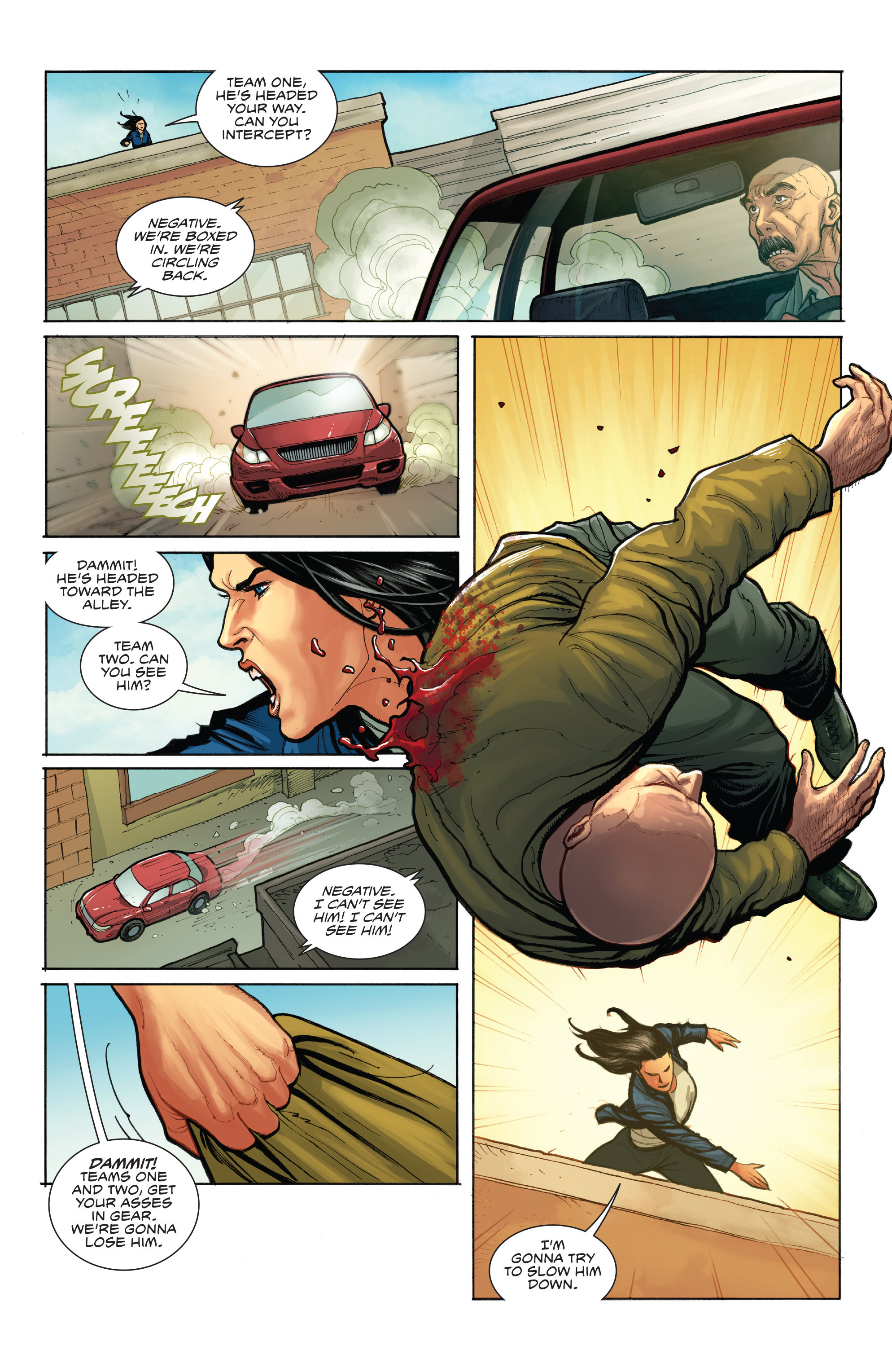 Read online Skybourne comic -  Issue #1 - 15