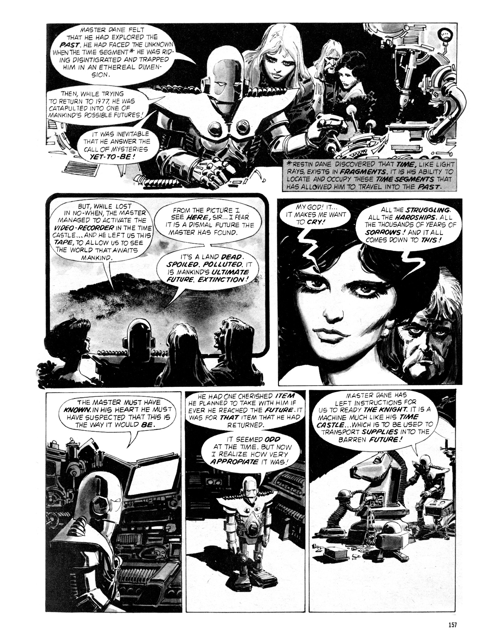 Read online Eerie Archives comic -  Issue # TPB 18 - 154