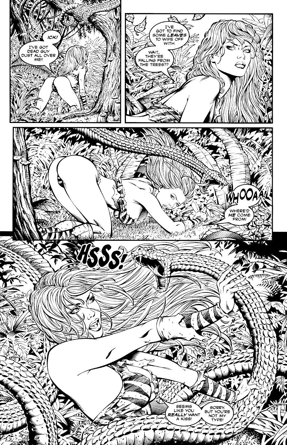 Read online Jungle Fantasy (2002) comic -  Issue #2 - 9
