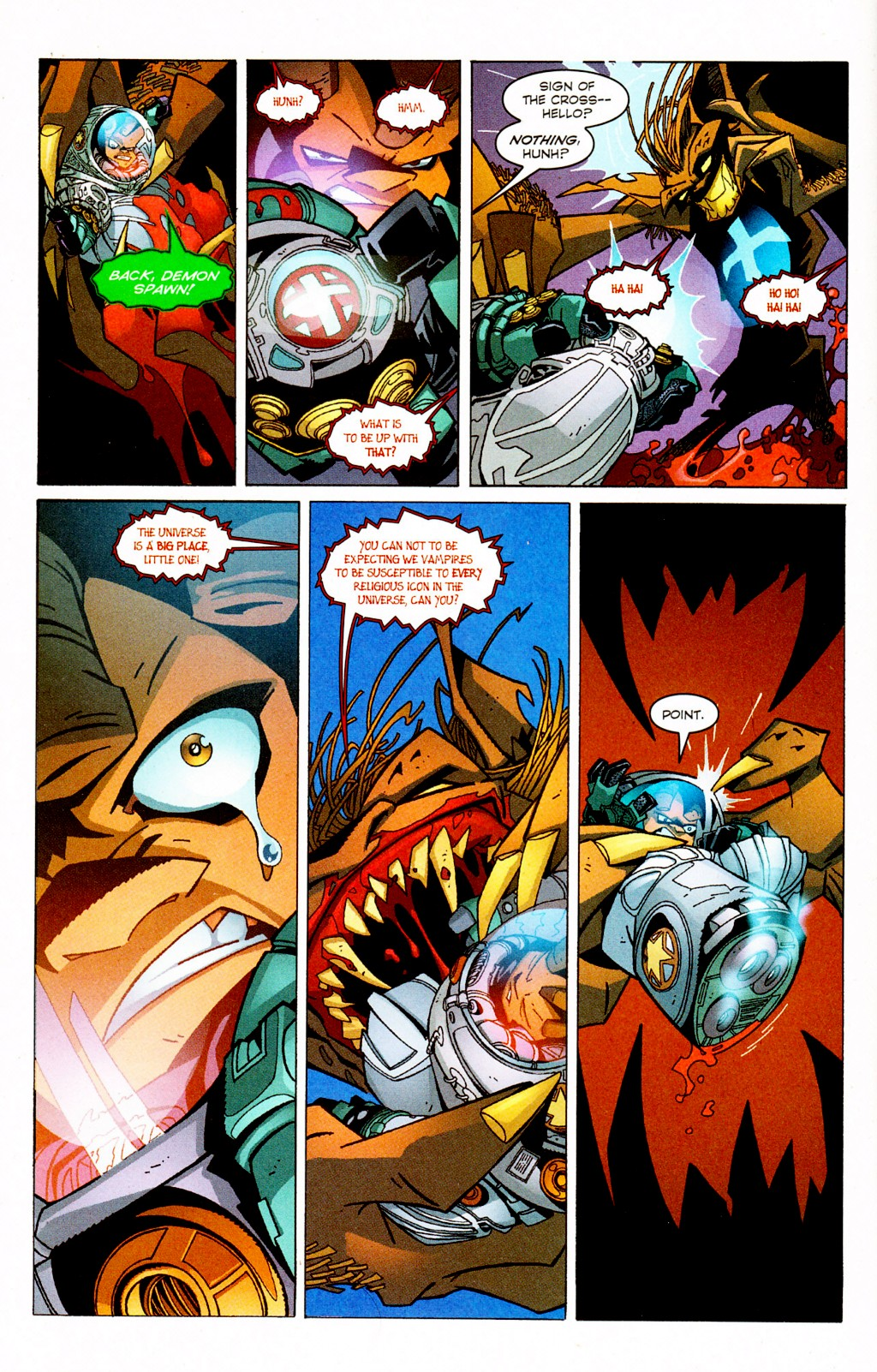 Read online Monster World (Existed) comic -  Issue #2 - 8