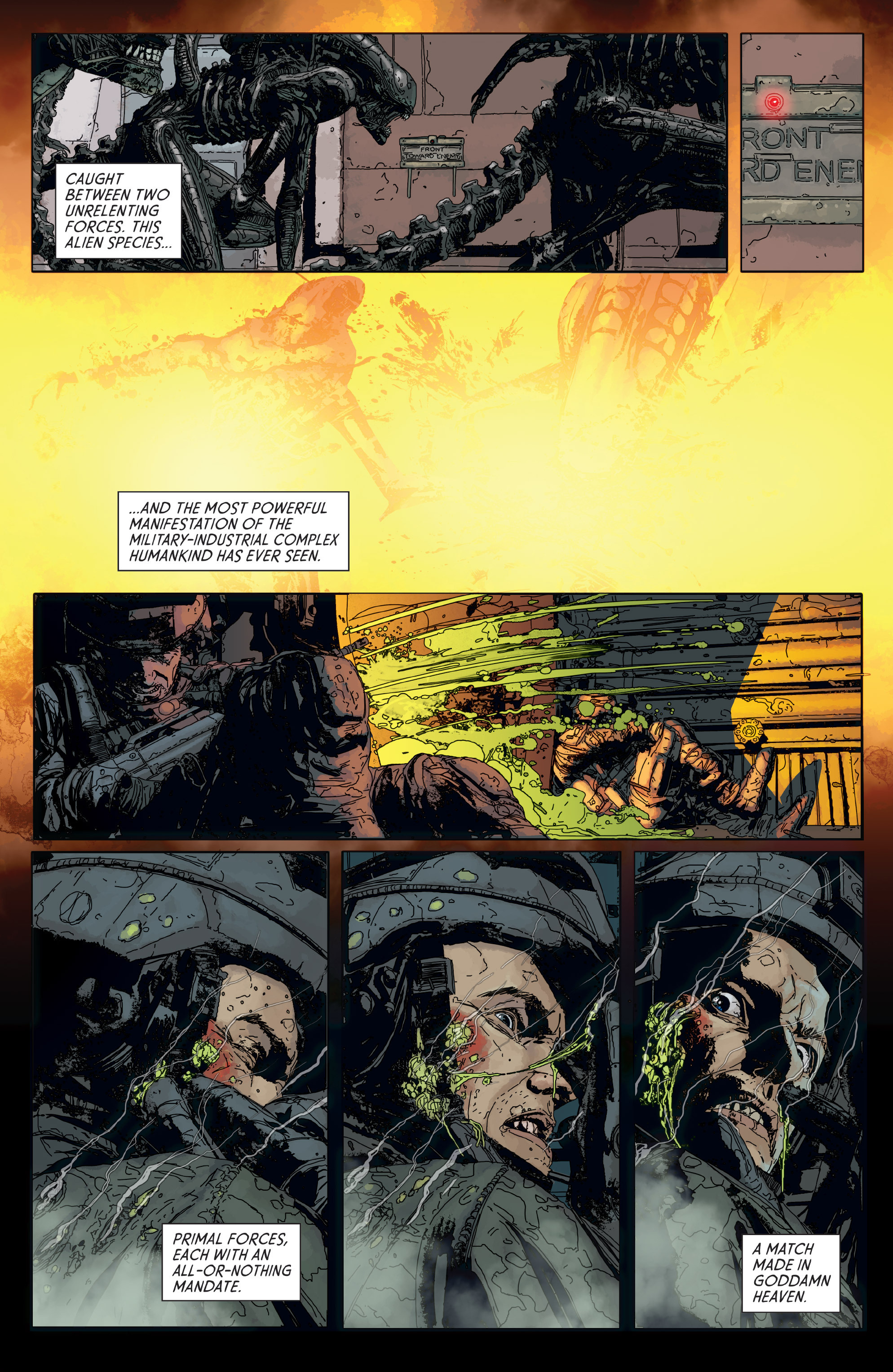 Read online Aliens: Defiance comic -  Issue #6 - 6