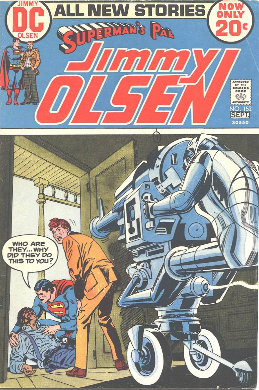 Supermans Pal Jimmy Olsen (1954) 152 Page 1