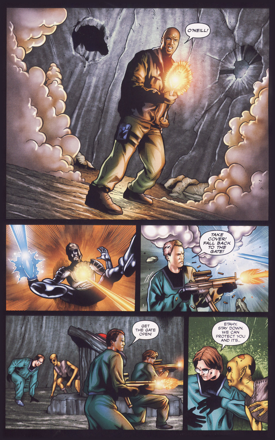 Read online Stargate SG-1: Fall of Rome comic -  Issue #1 - 19