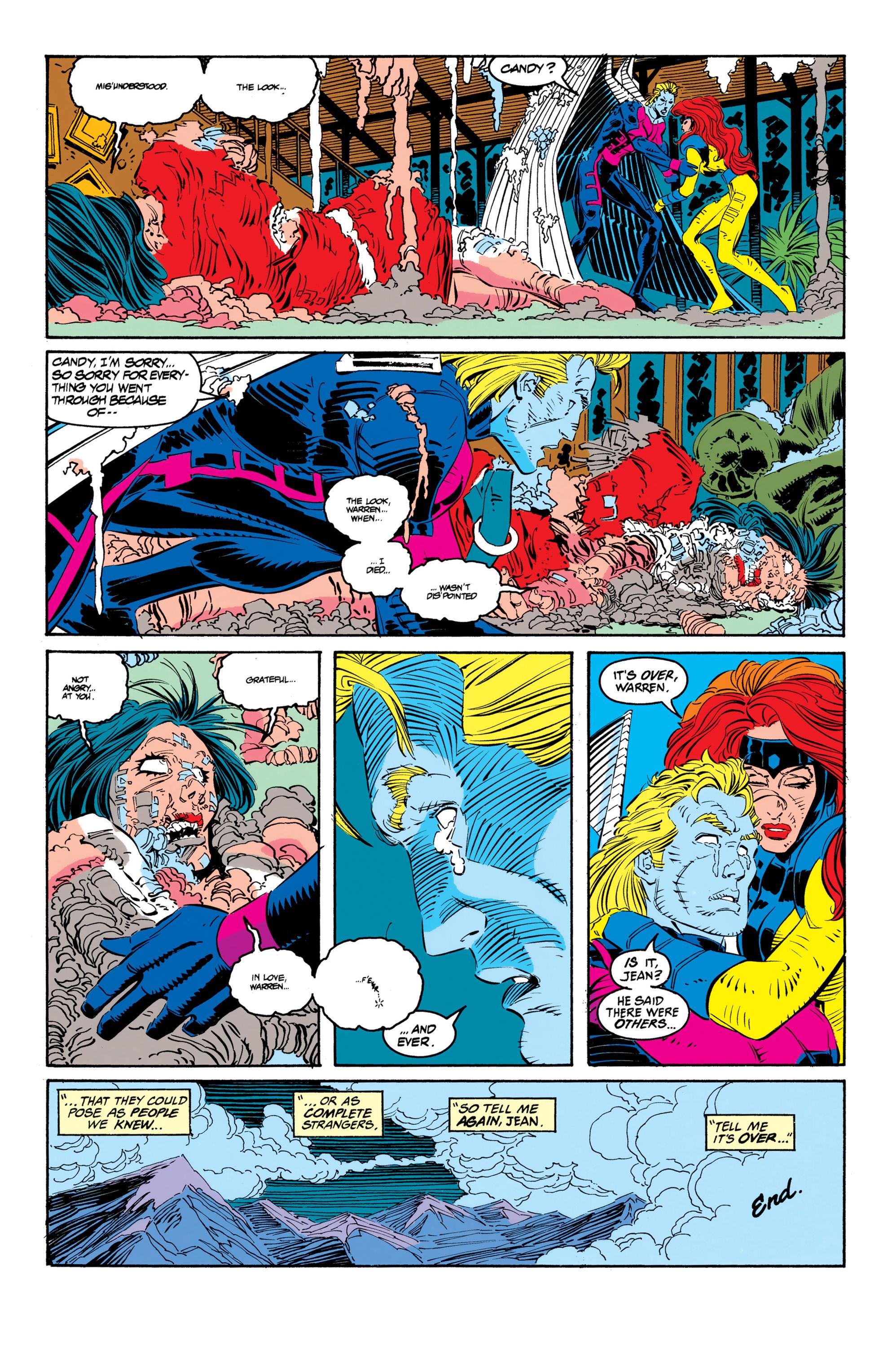 Read online Uncanny X-Men (1963) comic -  Issue #306 - 21