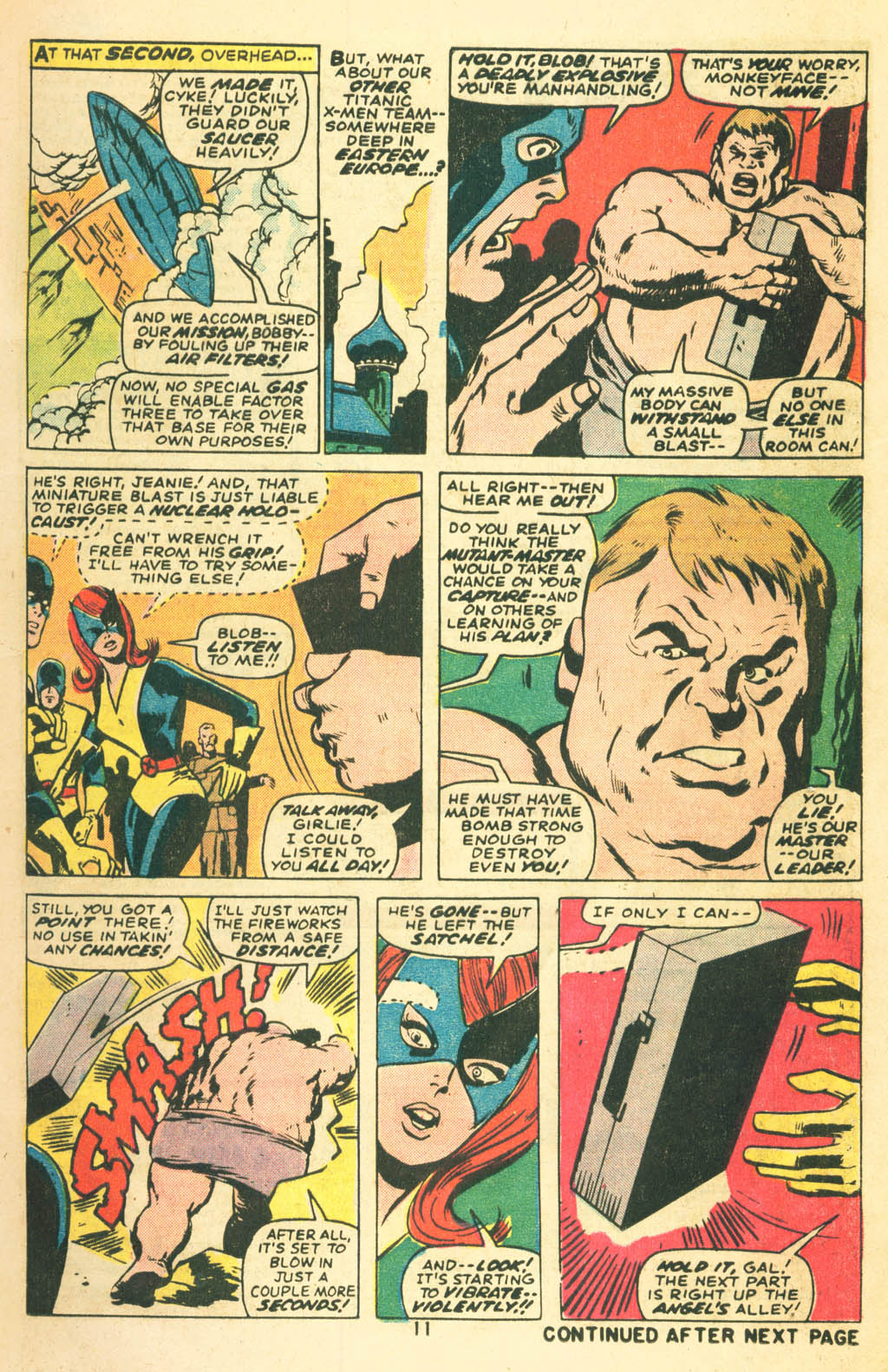 Read online Uncanny X-Men (1963) comic -  Issue #87 - 13
