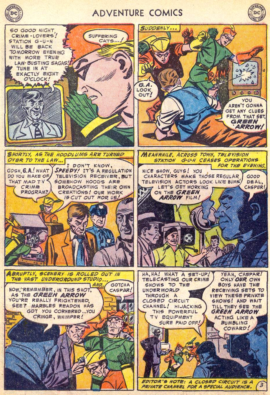 Read online Adventure Comics (1938) comic -  Issue #197 - 36