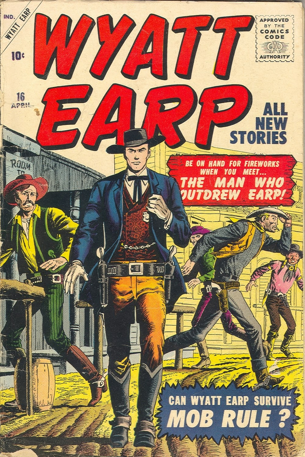 Wyatt Earp issue 16 - Page 1