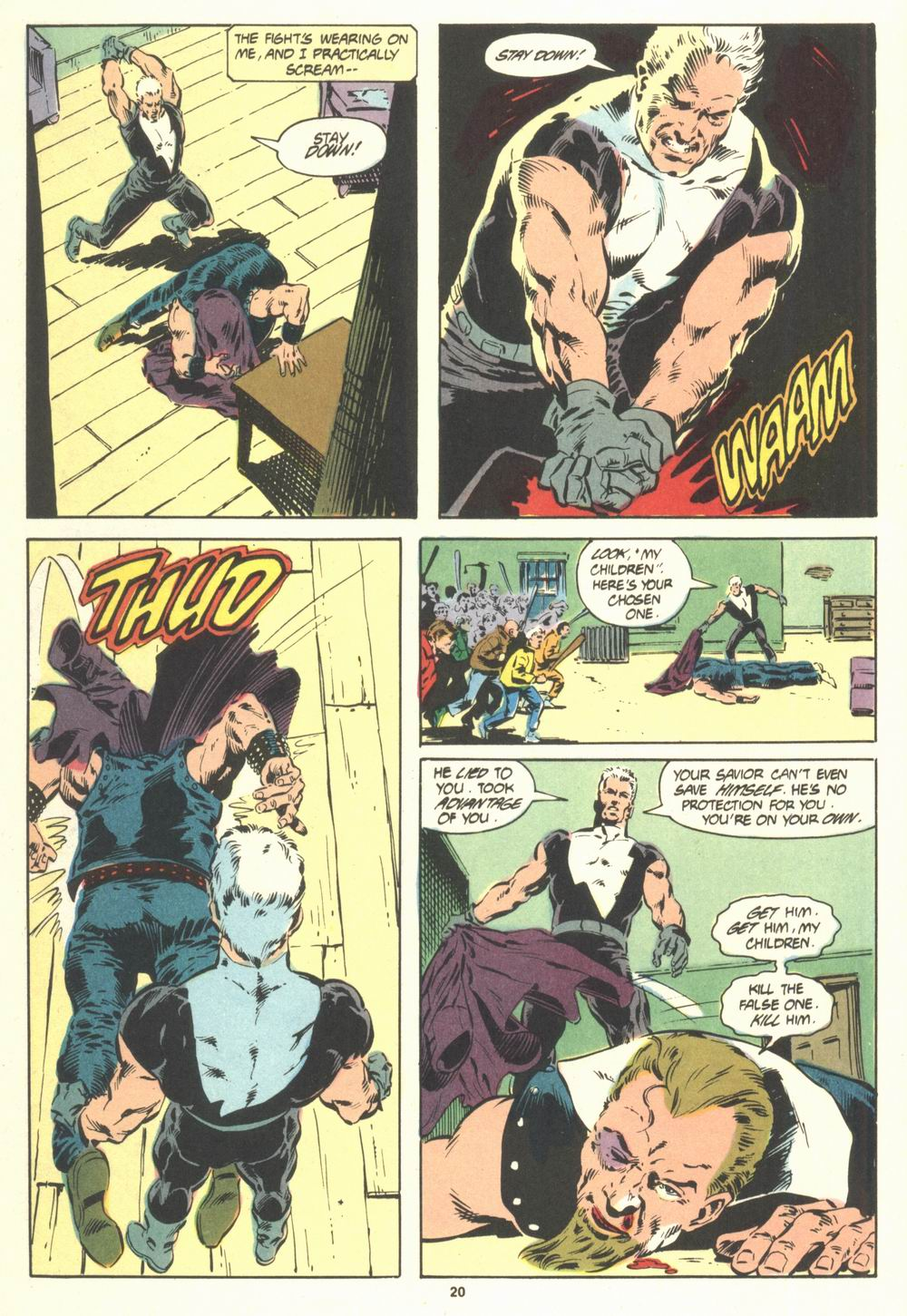 Read online Justice (1986) comic -  Issue #19 - 22