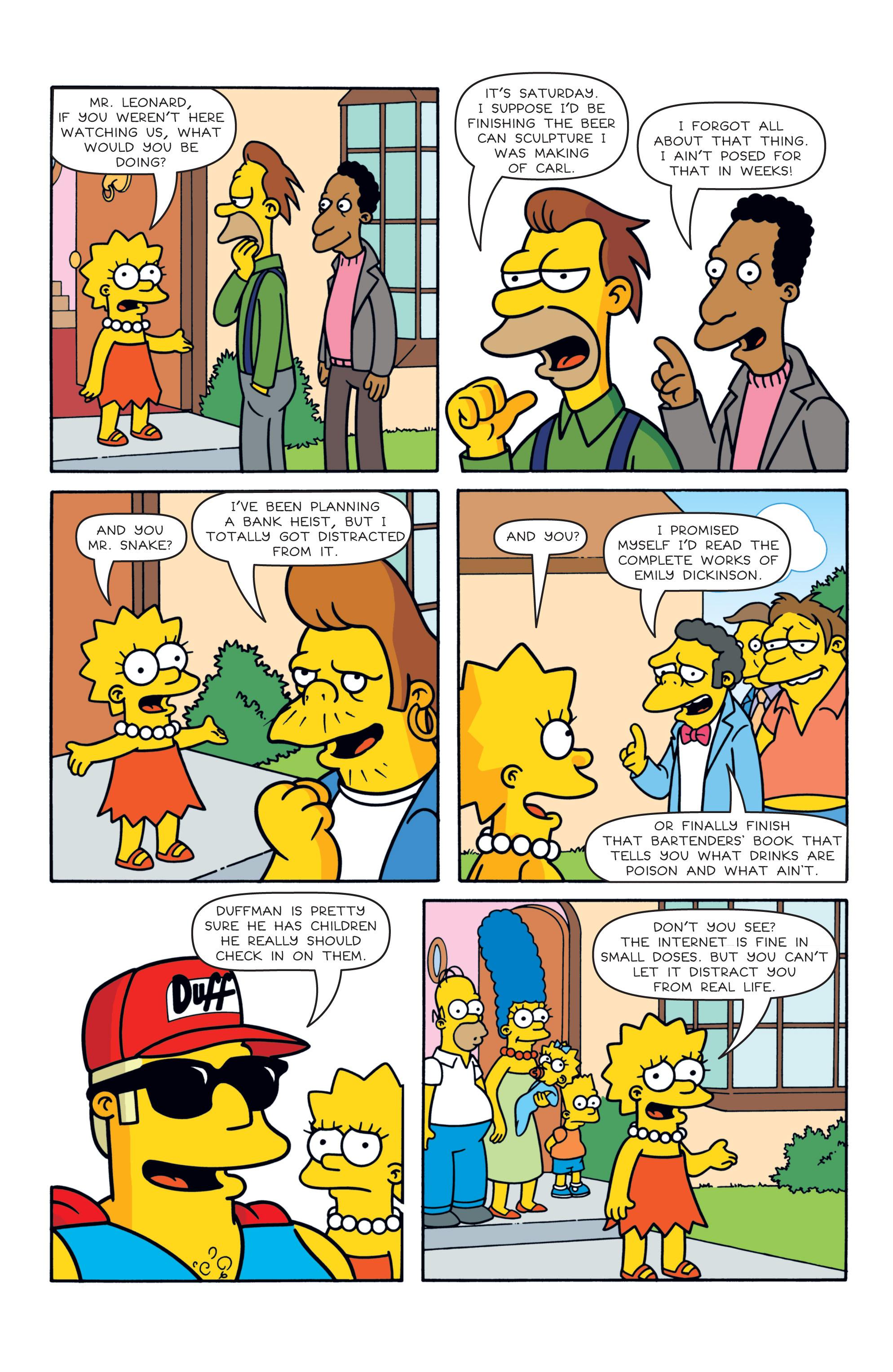 Read online Simpsons Comics comic -  Issue #187 - 22