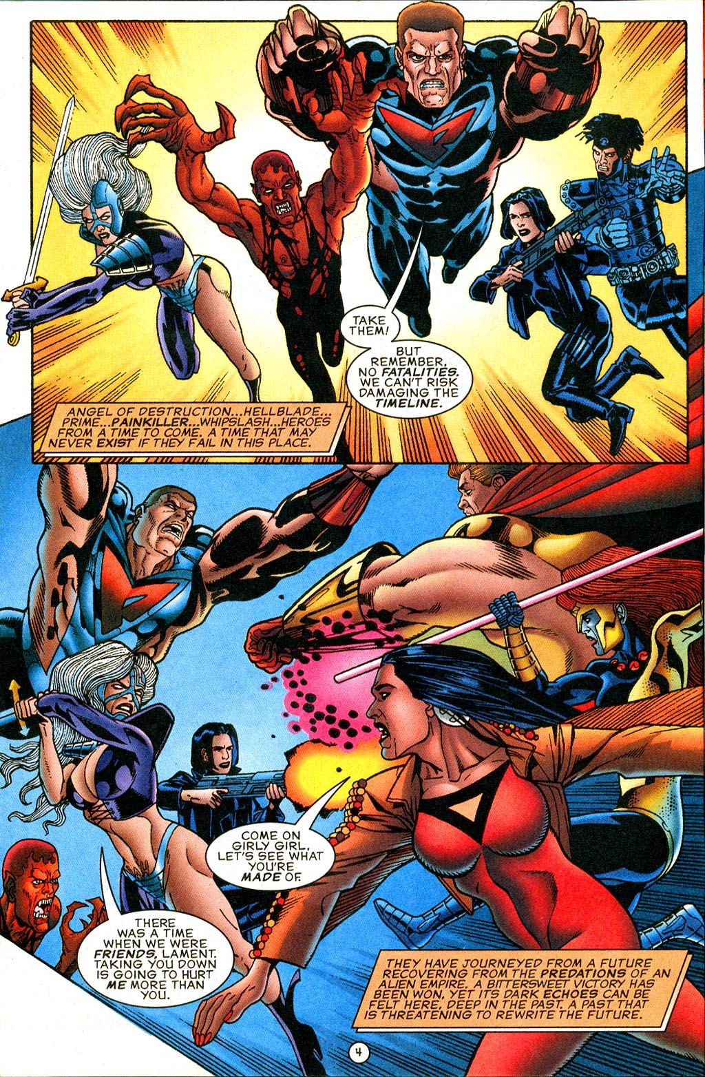 Read online UltraForce (1995) comic -  Issue #9 - 4