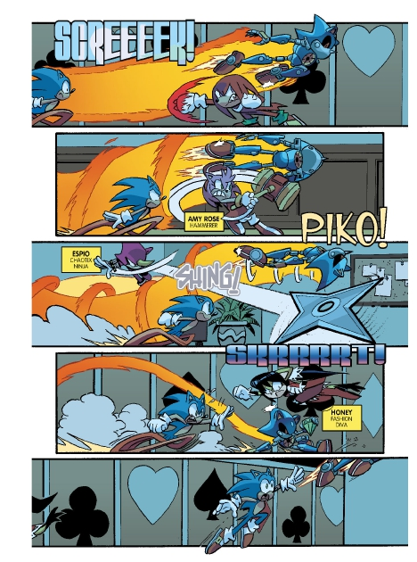 Read online Sonic Comics Spectacular: Speed of Sound comic -  Issue # Full - 71