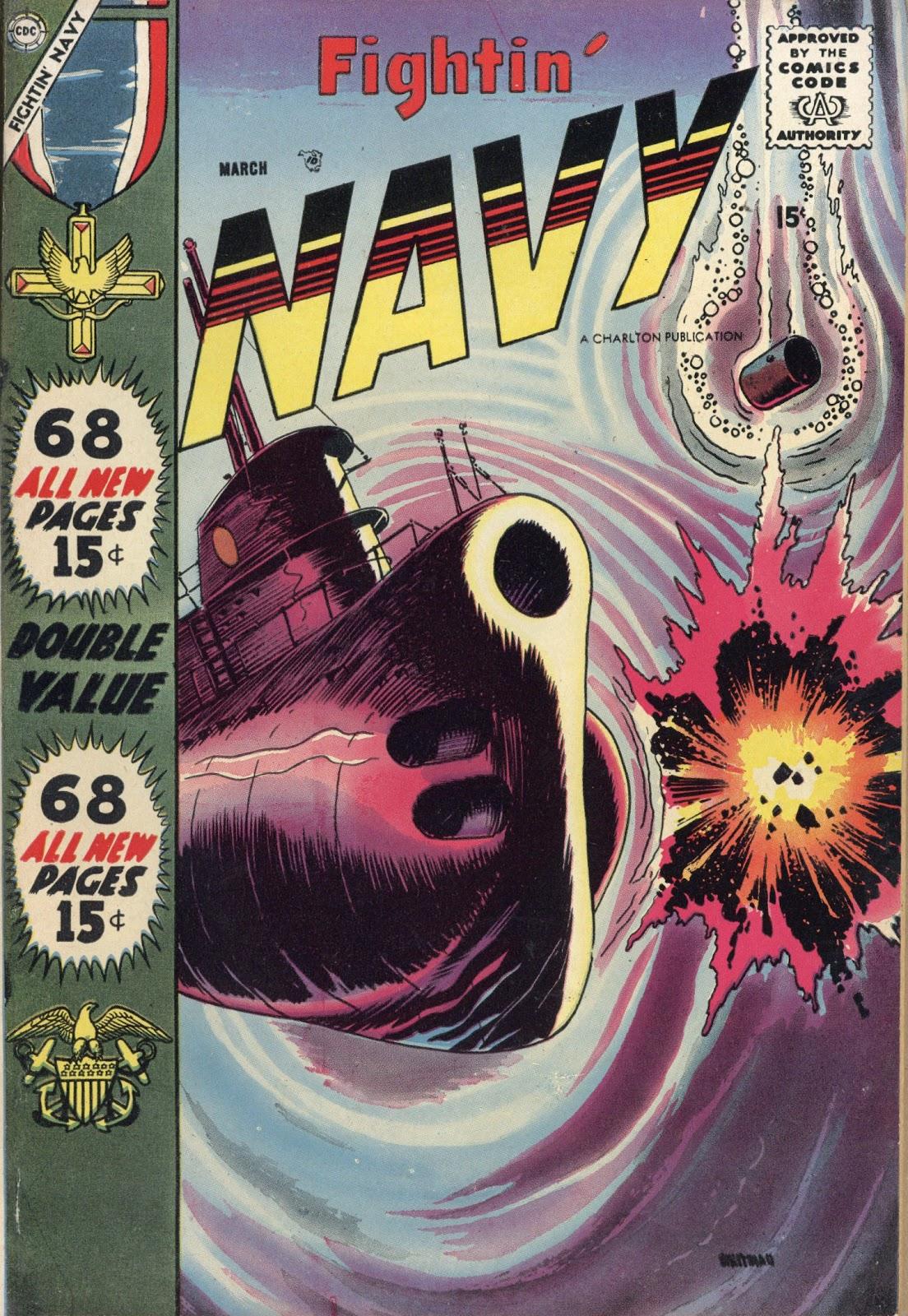 Read online Fightin' Navy comic -  Issue #82 - 1