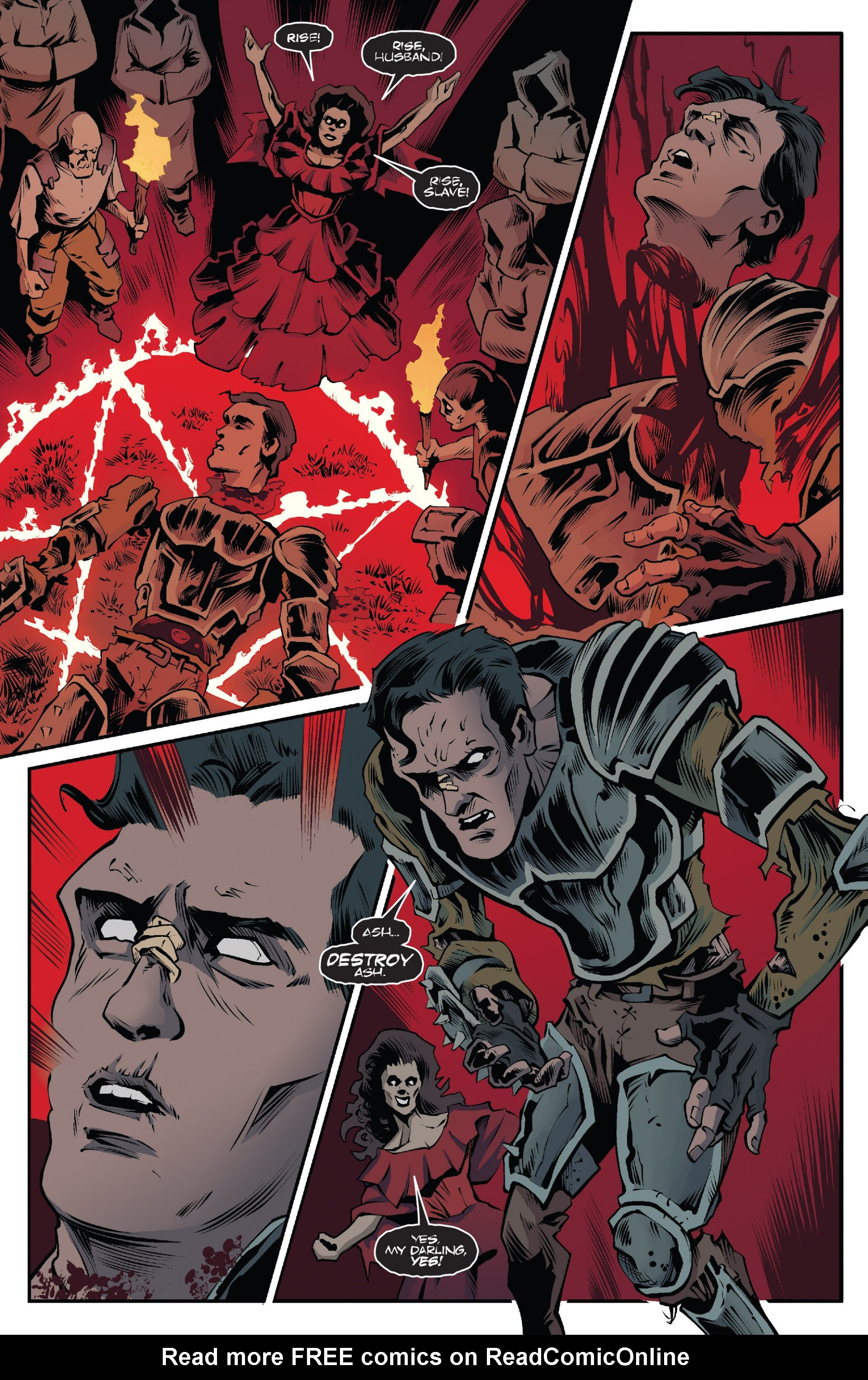 Read online Ash and the Army of Darkness comic -  Issue #7 - 10