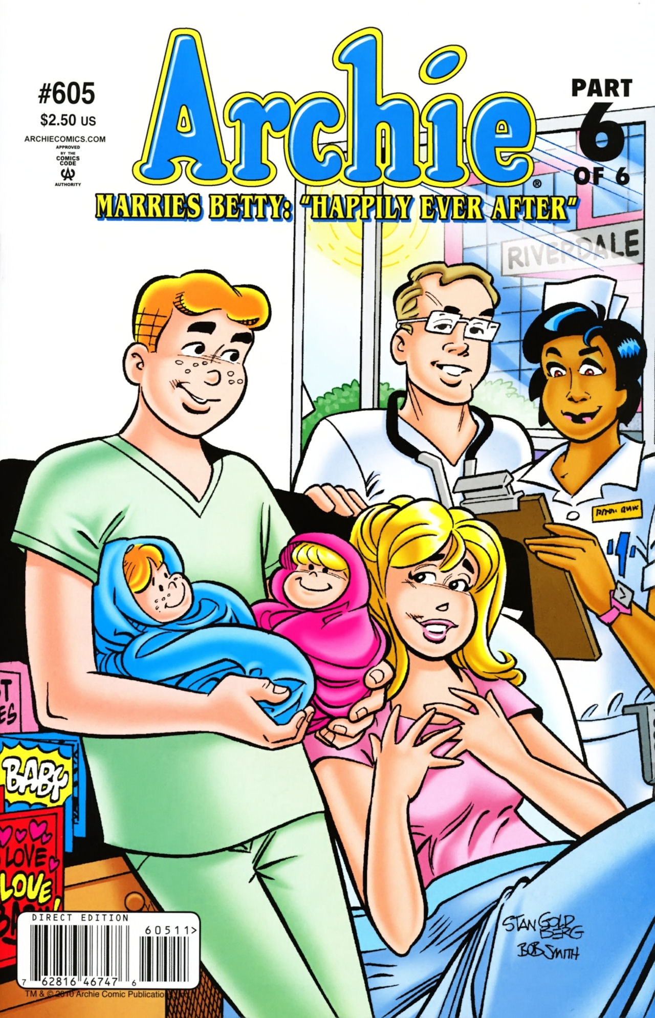 Read online Archie (1960) comic -  Issue #605 - 1