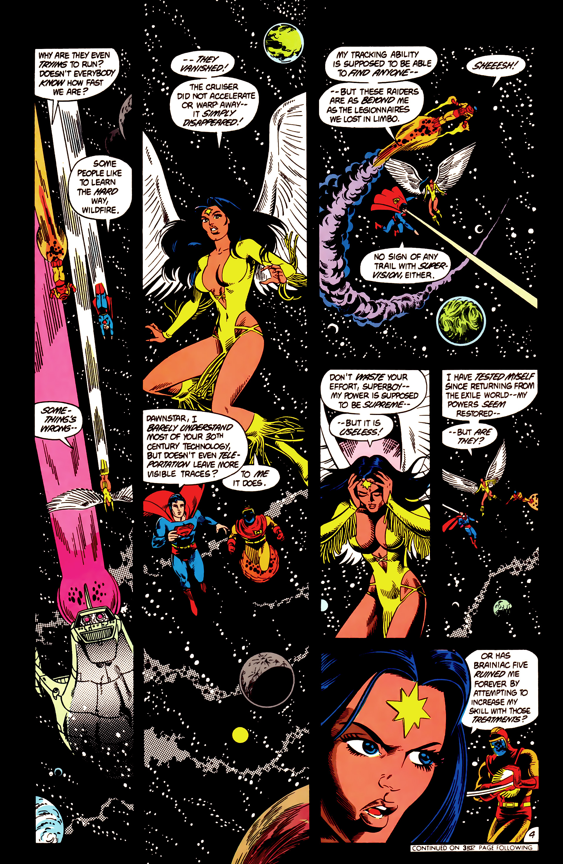Legion of Super-Heroes (1984) 12 Page 4
