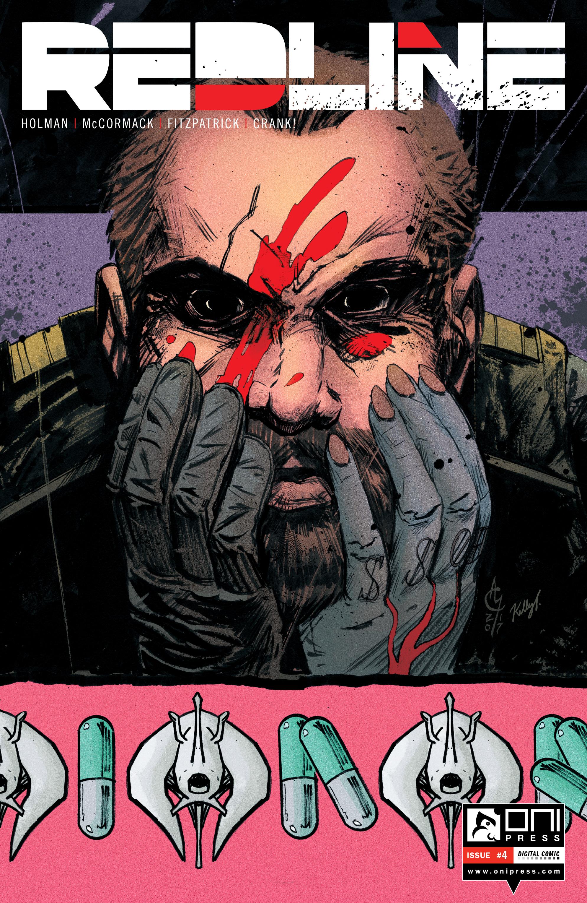Read online Redline comic -  Issue #4 - 1