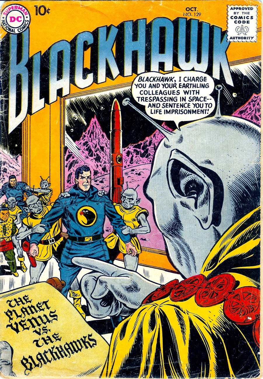 Blackhawk (1957) 129 Page 1