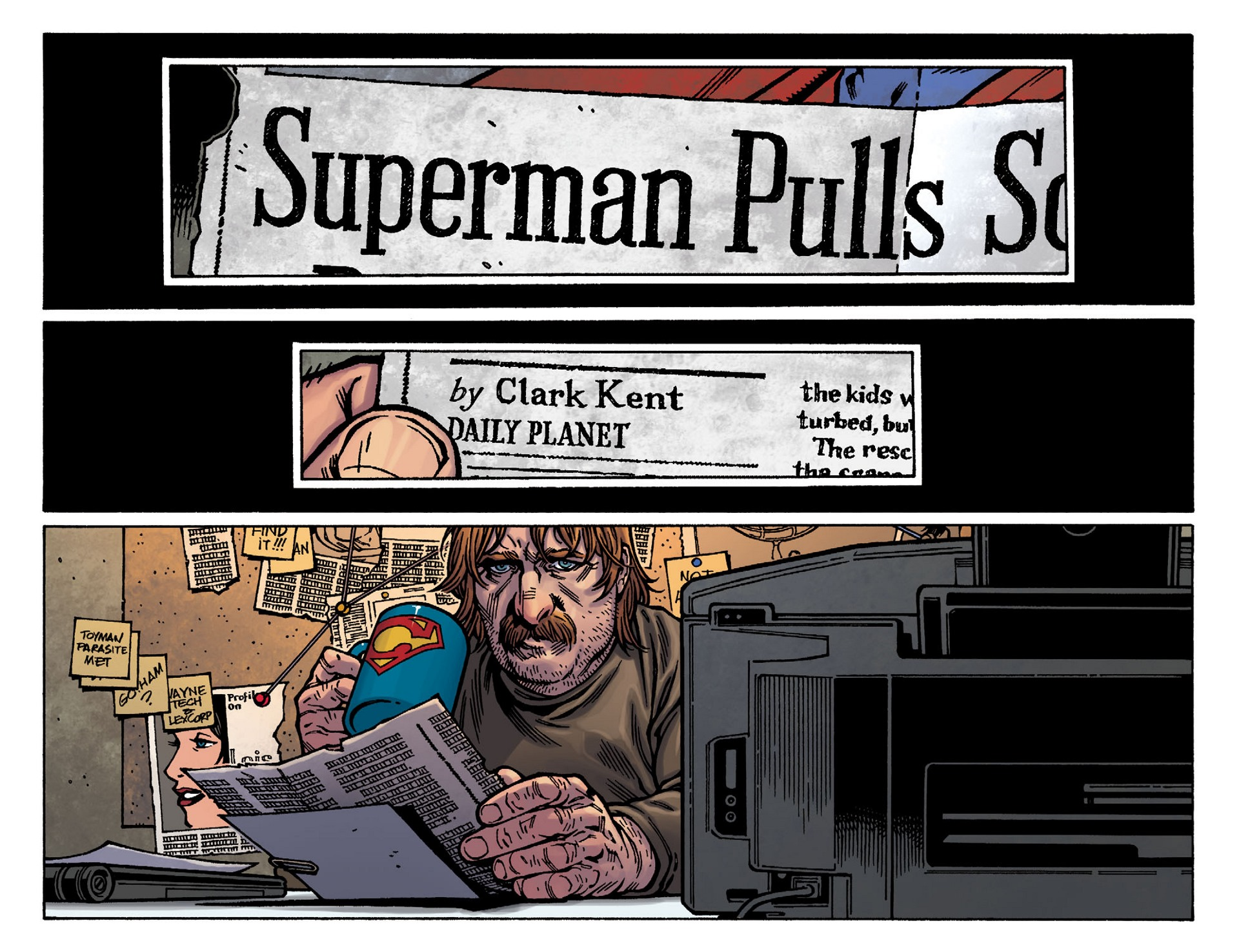 Read online Adventures of Superman [I] comic -  Issue #37 - 18
