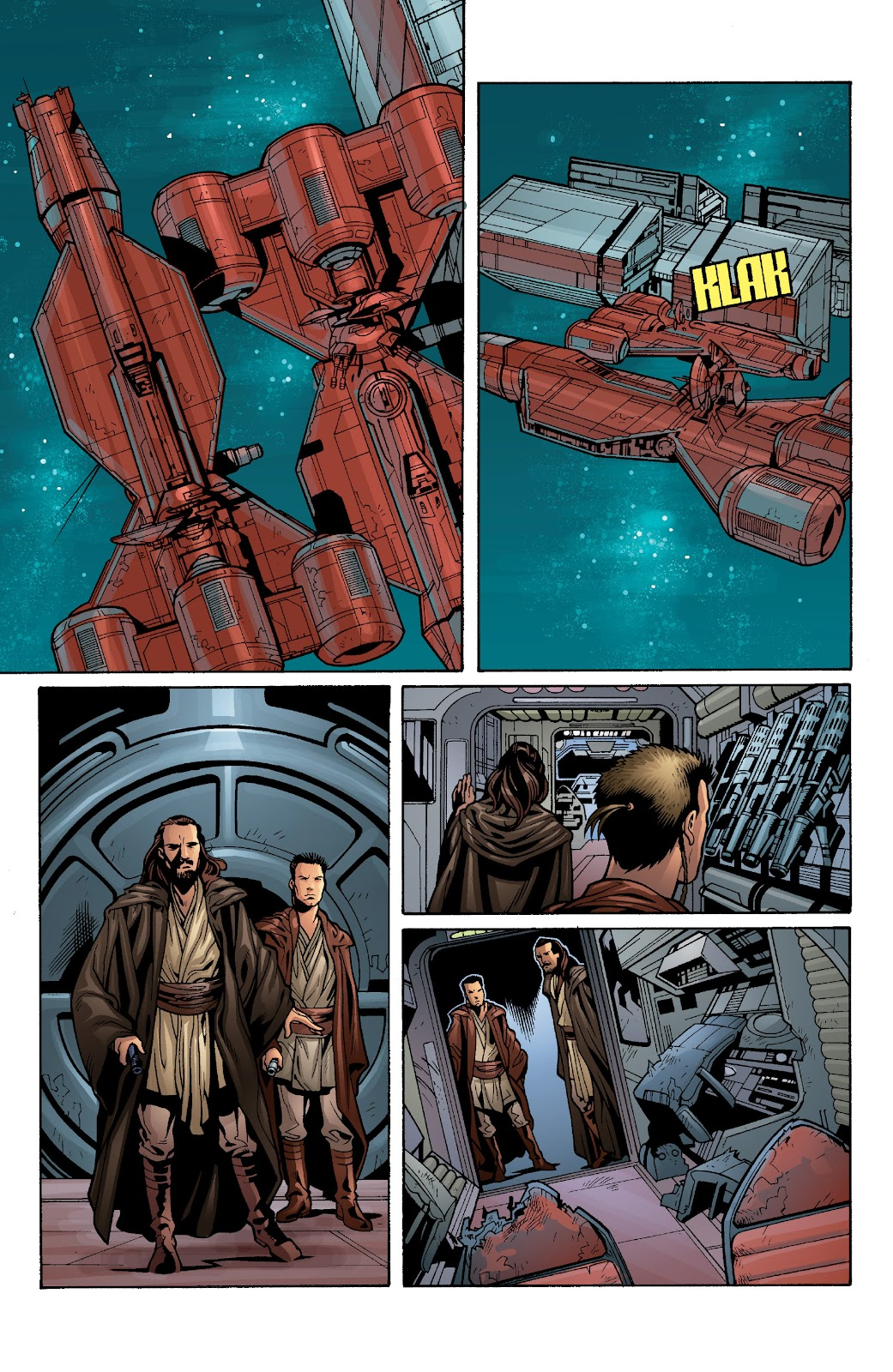 Read online Star Wars Legends: Rise of the Sith - Epic Collection comic -  Issue # TPB 1 (Part 3) - 83