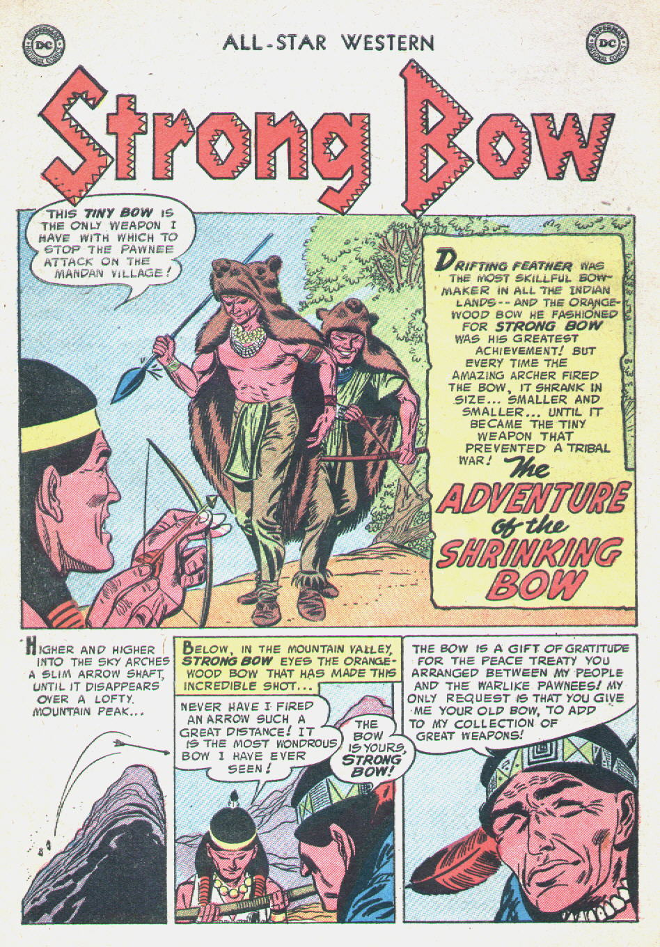 Read online All-Star Western (1951) comic -  Issue #90 - 10