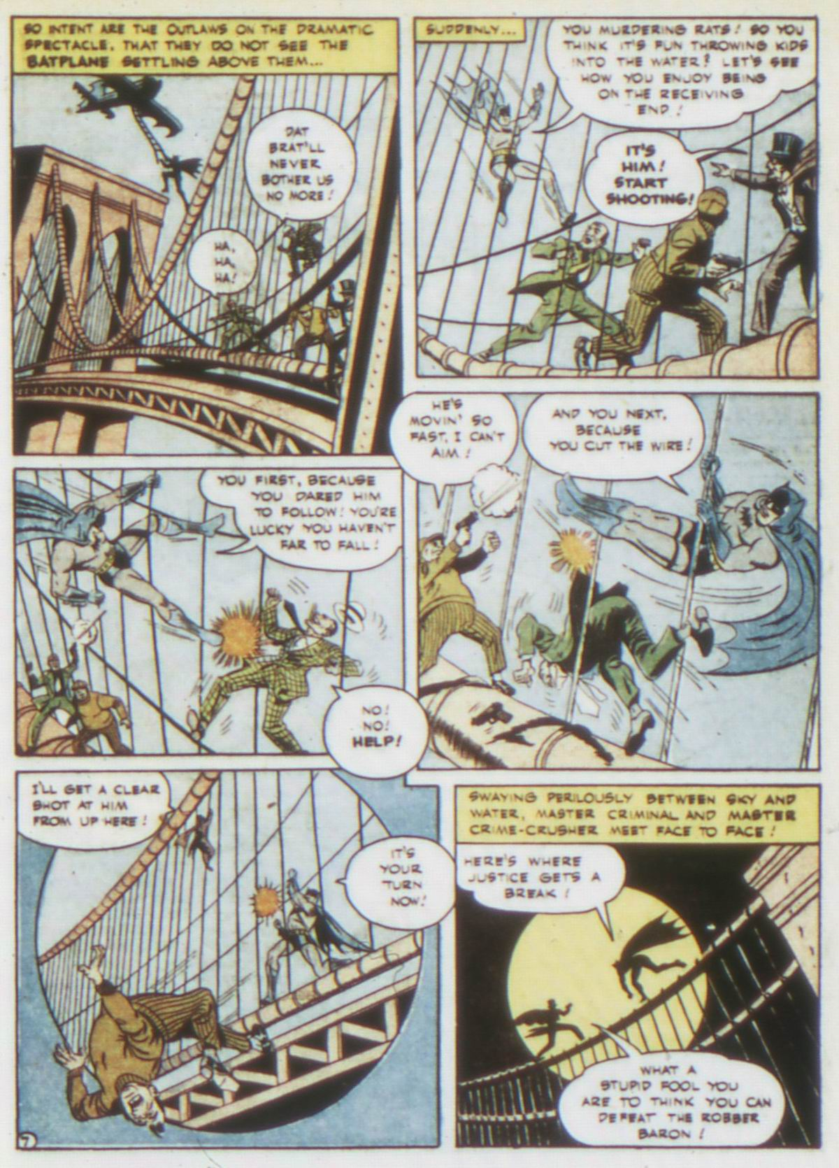 Read online Detective Comics (1937) comic -  Issue #75 - 9